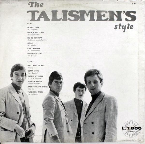 The Talismen's back